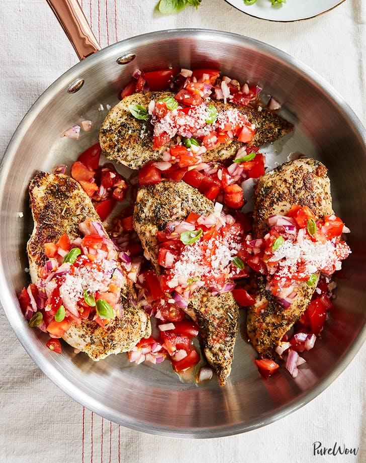 purewow bruschetta chicken recipe