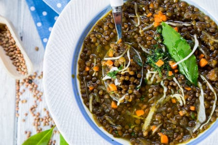 Lentil Soup with Cabbage | Weight Loss Recipes