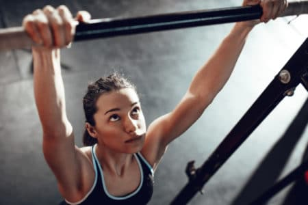 Total Body Weight Workout Using Fitness Bars