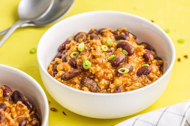 A Healthier Slow Cooker Texas Roadhouse Chili for Two