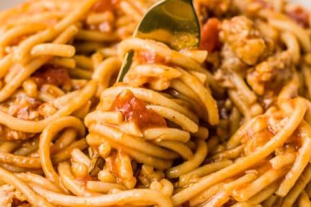 Instant Pot Skinny Spaghetti