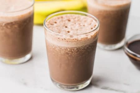 Nutella Banana Espresso Shake