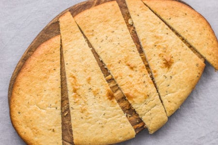 Plant-Based Cashew Flat Bread