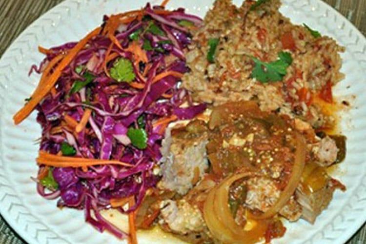 Jazzy Pork Tenderloin in Slow Cooker