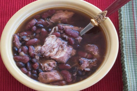 Slow Cooker Monday Beans and Chicken