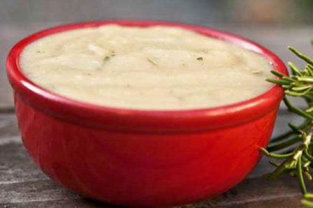 Slow Cooker Rosemary Potato Soup