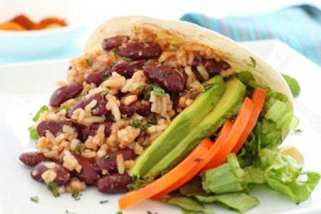 TexMex Rice and Beans