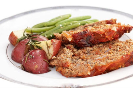Tuscan Turkey Meatloaf