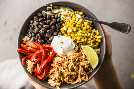 Chicken Fajita Power Bowls