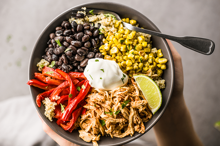 Chicken Fajita Power Bowl