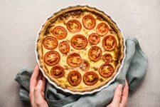 Italian Sausage and Tomato Pie
