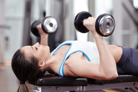 Push & Pull Dumbbell Circuit Workout