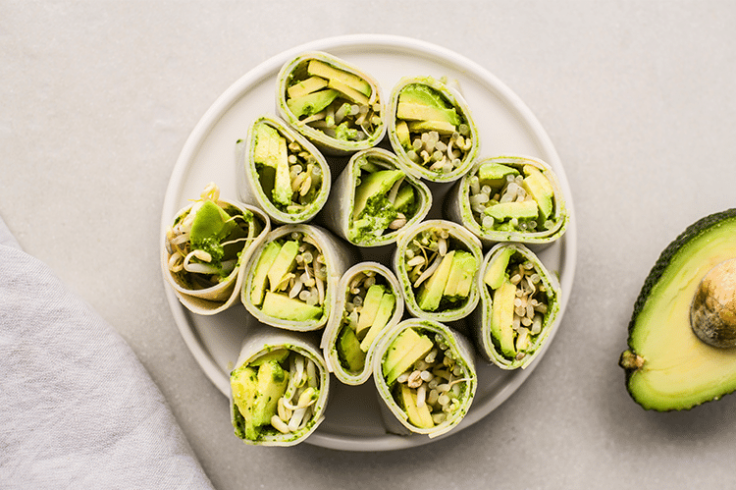 Turkey Avocado Roll-ups
