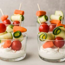 A cute and healthy appetizer or snack!