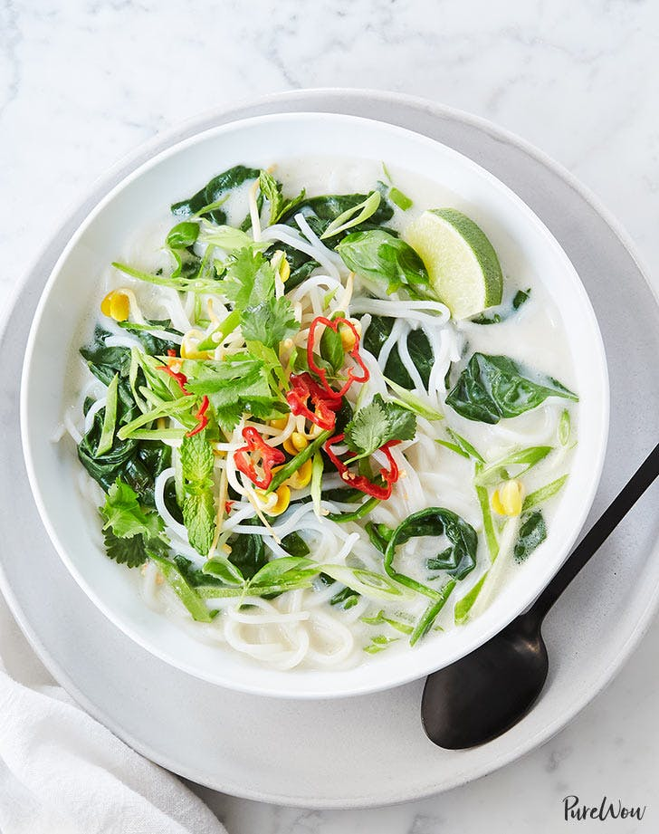 slow cooker detox coconut soup for meatless monday