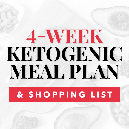 Easy to Follow Keto Meal Plan and Shopping List
