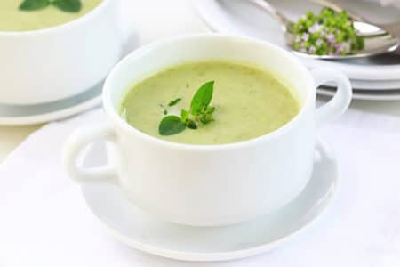 Broccoli Basil Cream Soup