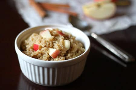 Cinnamon Apple Breakfast Quinoa