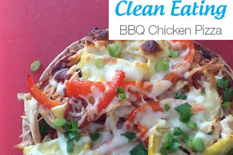 Clean Eating BBQ Chicken Pizza