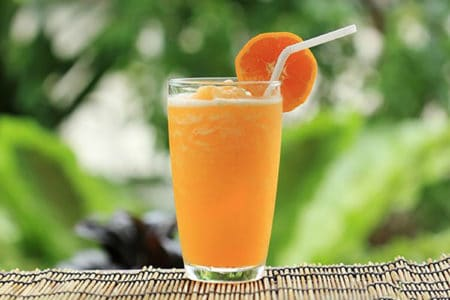Creamy Orange Passion Smoothie
