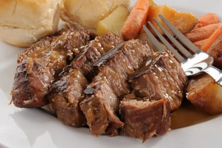 Garlic and Herb Beef Roast with Potatoes