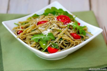 Linguine with Baby Arugula and Fresh Herbs