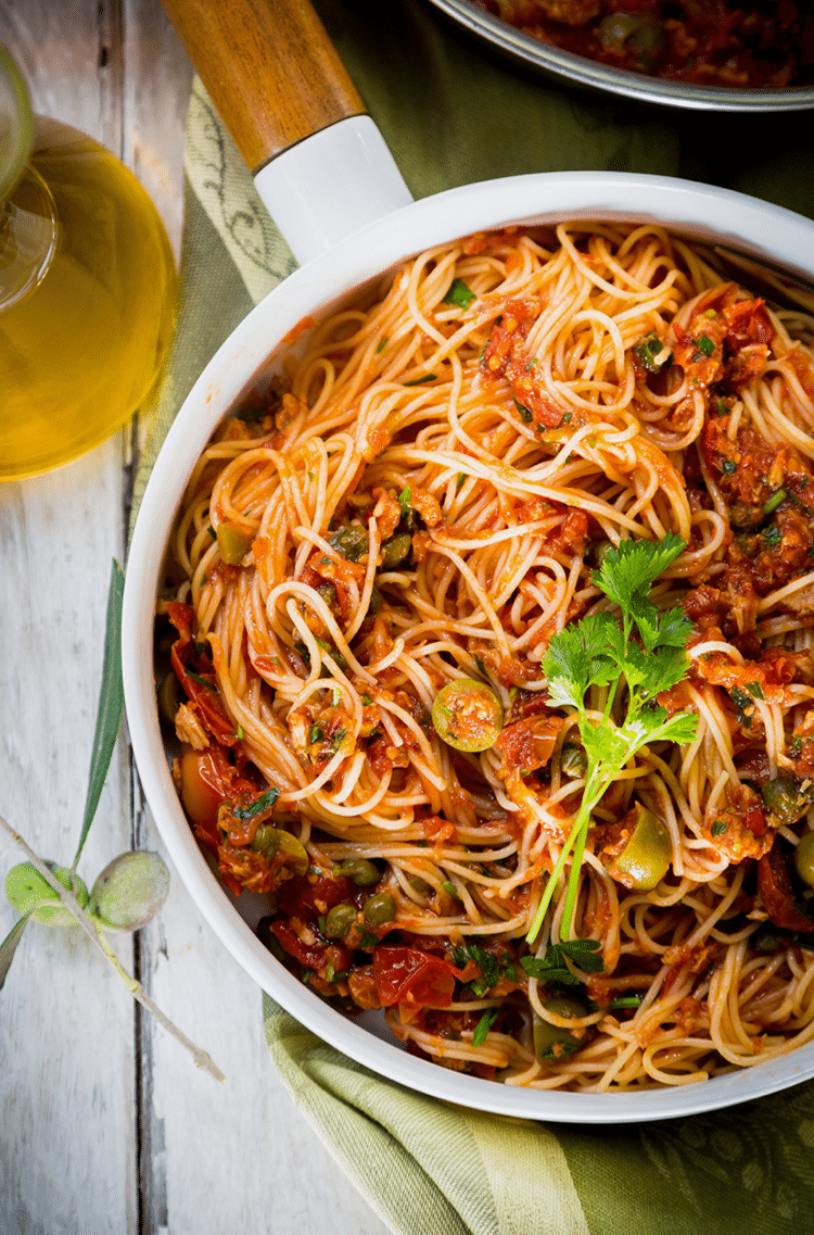 When you get a pasta craving, make this angel hair pasta.