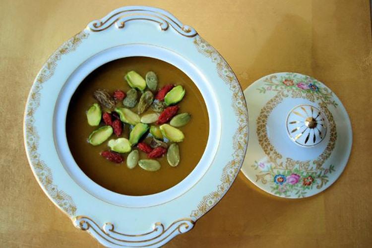 Pumpkin Hazelnut Chai Soup