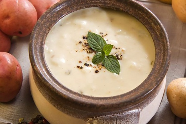 Slow Cooker Cream of Potato Soup