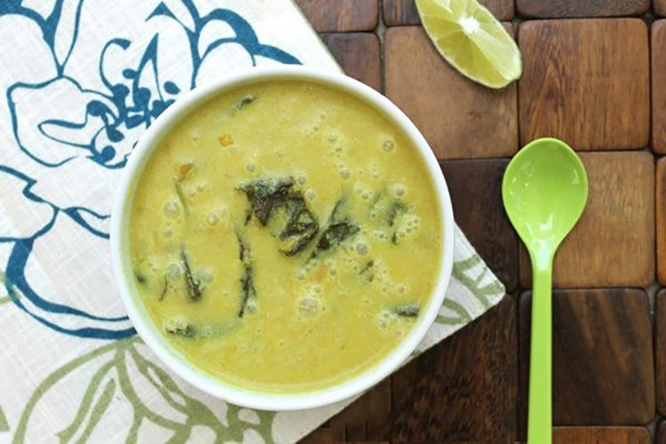 Curried Coconut Vegetable Soup