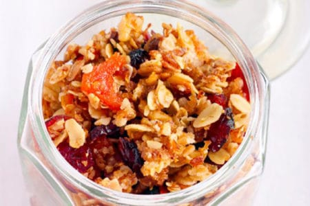Sweetly Spiced Granola