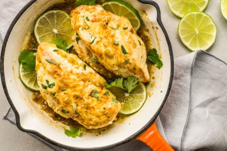 Easy Skillet Cilantro Lime Chicken