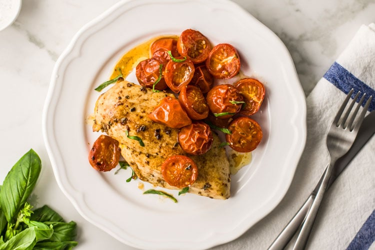 """Melt in Your Mouth"" Italian Baked Chicken"