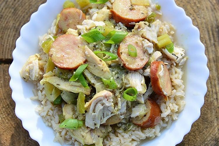 Instant Pot Chicken Gumbo Recipe