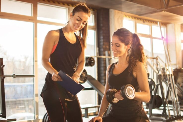 a fitness trainer's guide to getting fit