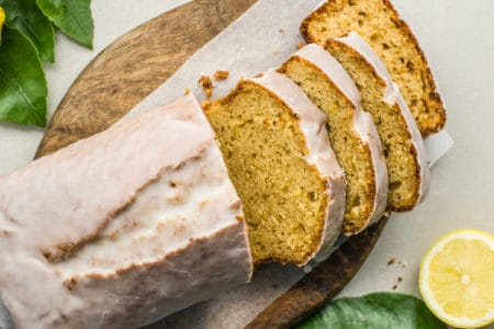 Clean Lemon Yogurt Cake Recipe