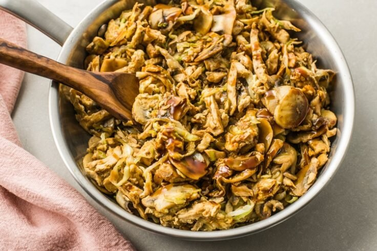 Moo Shu Chicken Skillet Recipe