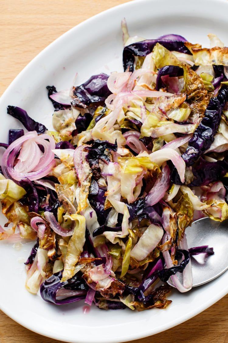 Sweet and sour cabbage pairs great with a number of different entrees.