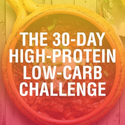 The 30-Day High-Protein Low-Carb Challenge Shopping List