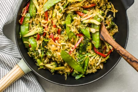 Vegetable Egg Roll Skillet