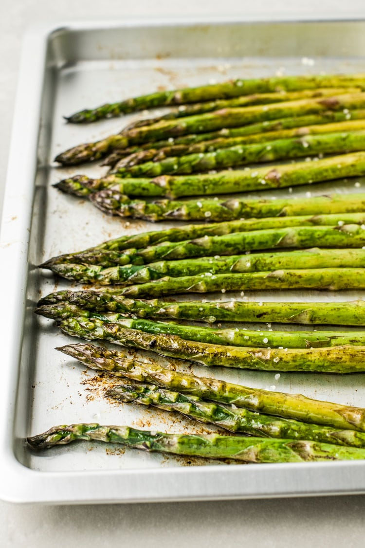 Broiled Asparagus with Balsamic Brown Butter