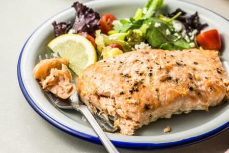 3-Ingredient Tender Broiled Salmon