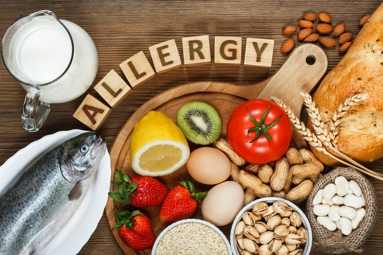 food allergies can cause belly bloat