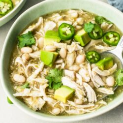 5-Ingredient Slow Cooker Chicken Chili Verde