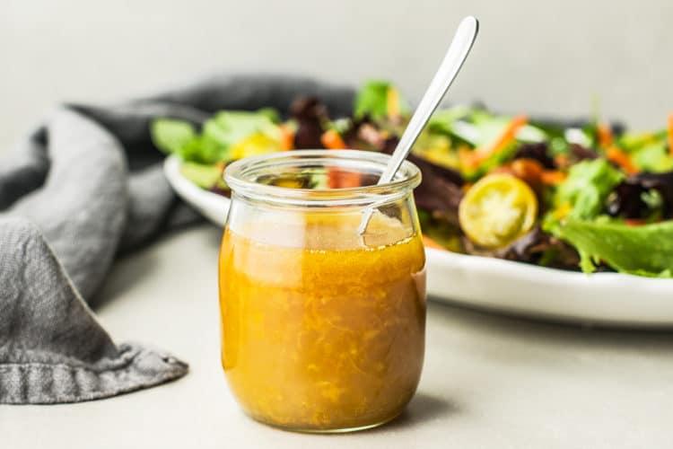 Orange Ginger Sesame Salad Dressing