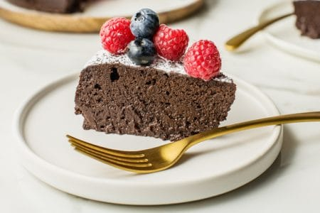 3-Ingredient Chocolate Cake | Gluten Free Recipe
