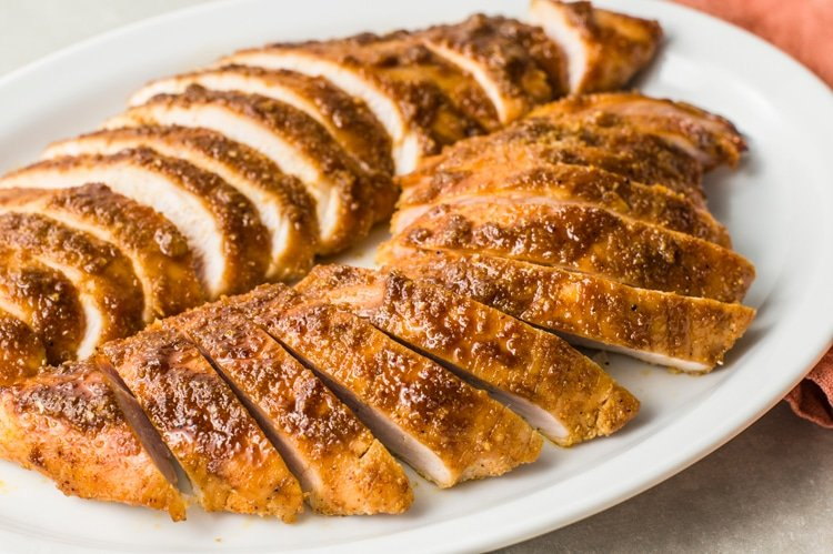 Foolproof Maple Garlic Turkey Breast