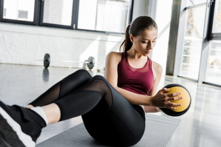 Blast Ab Fat with this Medicine Ball Workout