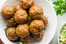 Turkey Chorizo Meatballs