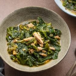 healthy southern greens recipe